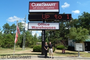 Image of CubeSmart Self Storage - Tomball - 27000 Kuykendahl Rd Facility on 27000 Kuykendahl Road  in Tomball, TX - View 2