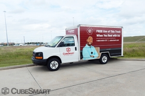 Image of CubeSmart Self Storage - Pearland - 3045 Business Center Drive Facility on 3045 Business Center Drive  in Pearland, TX - View 3
