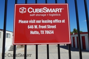 Image of CubeSmart Self Storage - Hutto - 110 South Fm 1660 Facility at 110 SOUTH FM 1660  Hutto, TX