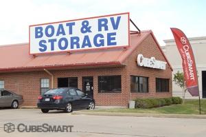 Image of CubeSmart Self Storage - Fresno Facility on 11935 Hwy 6  in Fresno, TX - View 2