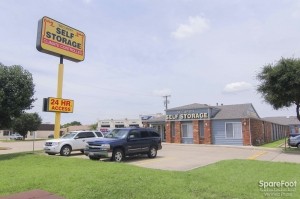 Image of Security Self Storage - Irving Facility on 3417 North Belt Line Road  in Irving, TX - View 2