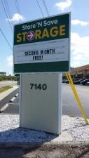 Image of Store N Save Mini Storage Facility at 7140 Ridge Road  Port Richey, FL