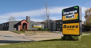 Image of StorageMart - Delaware & SE 3rd St Facility at 205 Southeast Delaware Avenue  Ankeny, IA