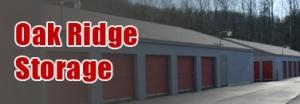 Oak Ridge Storage