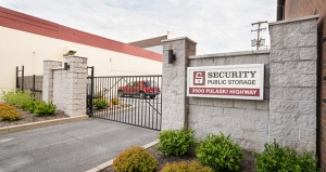 Image of Security Public Storage - Baltimore Facility on 3500 Pulaski Highway  in Baltimore, MD - View 2