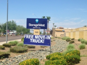 Image of Storage West - Bell Road Facility at 1628 E Bell Rd  Phoenix, AZ