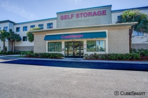 Image of CubeSmart Self Storage - Royal Palm Beach - 8970 Belvedere Rd Facility at 8970 Belvedere Rd  West Palm Beach, FL