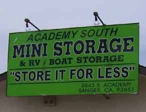Photo of Academy South Mini Storage