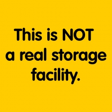 Fake Storage Facility - Marketing