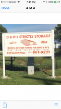 Image of D & D's Strictly Storage Facility on 4623 South 400 West  in New Palestine, IN - View 4