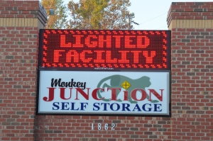 Image of Monkey Junction Self Storage - Mt Misery Facility on 1862 Mount Misery Road Northeast  in Leland, NC - View 2