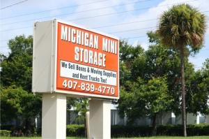 Image of Michigan Mini Storage Facility at 200 W Michigan St  Orlando, FL