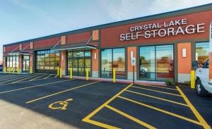 Image of Crystal Lake Self Storage Facility at 647 Teckler Boulevard  Crystal Lake, IL
