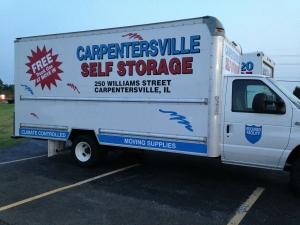 Image of Carpentersville Self Storage Facility on 250 Williams Street  in Carpentersville, IL - View 2