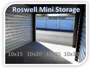 Image of Roswell Self-Storage / Mini Warehouse Facility at 90 Oak Street  Roswell, GA