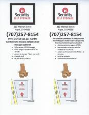 Security Self Storage - Napa - 219 Walnut Street - Photo 3