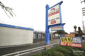 Image of A-American Self Storage - Santa Fe Springs Facility on 13443 Rosecrans Ave  in Santa Fe Springs, CA - View 3
