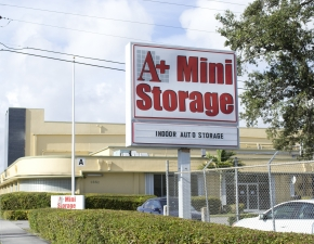 Image of A+ Mini Storage - Airport East Facility at 1851 Delaware Parkway  Miami, FL