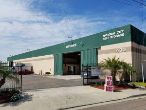 Image of National City Self Storage Facility at 430 West 30th Street  National City, CA