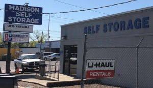 Image of Madison Self Storage Facility on 111 Woodruff Street  in Nashville, TN - View 2