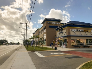 Image of Lighthouse Self Storage West Palm Beach Facility on 2909 South Military Trail  in West Palm Beach, FL - View 2