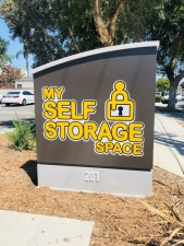 Image of My Self Storage Space - Fullerton Facility on 201 South Balcom Avenue  in Fullerton, CA - View 4