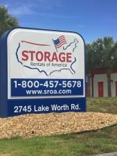 Image of Storage Rentals of America - Lake Worth Facility on 2745 Lake Worth Road  in Lake Worth, FL - View 2