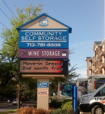 Image of Community Self Storage - Memorial / Galleria - 2101 S. Voss Facility on 2101 South Voss Road  in Houston, TX - View 2