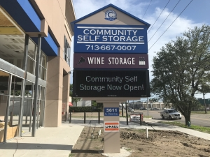Image of Community Self Storage - Bellaire / West U / Galleria - 5611 S. Rice Ave. Facility on 5611 South Rice Avenue  in Houston, TX - View 3