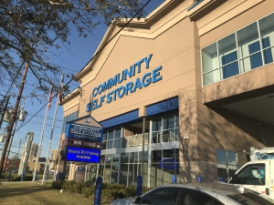 Image of Community Self Storage - Bellaire / West U / Galleria - 5611 S. Rice Ave. Facility on 5611 South Rice Avenue  in Houston, TX - View 2