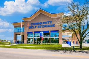 Image of Community Self Storage - Bellaire / West U / Galleria - 5611 S. Rice Ave. Facility at 5611 South Rice Avenue  Houston, TX