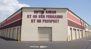 Image of E-Z Storage of Burbank, L.P. Facility on 20 East Alameda Avenue  in Burbank, CA - View 3