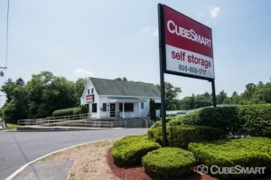 Image of CubeSmart Self Storage - Holbrook - 692 South Franklin Street Facility at 692 South Franklin Street  Holbrook, MA