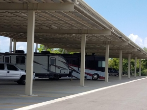 Image of Tropicana Mini Storage Facility on 220 Belcher Road  in Largo, FL - View 2