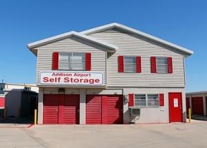 Image of Addison Airport Self Storage Facility at 4485 Glenn Curtiss Drive  Addison, TX