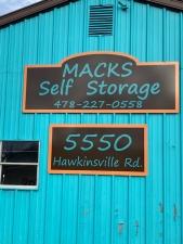 Image of Macks Self Storage - 31216 Facility at 5550 Hawkinsville Road  Macon, GA