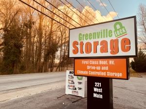 Image of Greenville Lock Storage - North Facility at 221 West Main Street  Taylors, SC