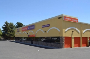 Image of Public Storage - North Las Vegas - 2435 E Cheyenne Ave Facility at 2435 E Cheyenne Ave  North Las Vegas, NV