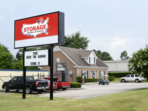 Image of Storage Rentals of America - Grovetown - Wrightsboro Rd Facility at 5116 Wrightsboro Road  Grovetown, GA