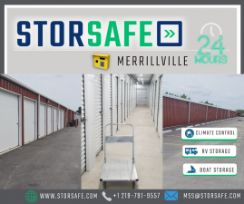 Image of StorSafe of Merrillville Facility at 3950 W 73rd Ave  Merrillville, IN