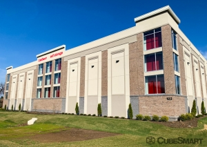 Image of CubeSmart Self Storage - PA Newtown Penns Trail Facility on 122 Penn Trail  in Newtown, PA - View 2