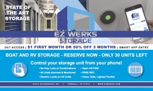 Image of EZ Werks Storage Facility on 23512 Kuykendahl Road  in Tomball, TX - View 2