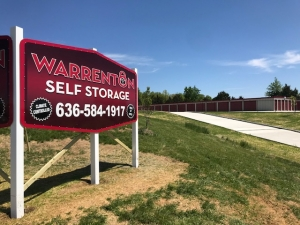 Image of Warrenton Self Storage Facility at 1209 North Service Road East  Warrenton, MO
