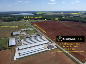Image of Storage Port Facility at 5750 Mooresville Road  Tanner, AL