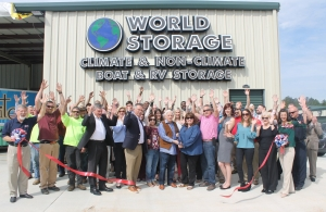 Image of World Self Storage Facility on 1549 Russell Parkway  in Warner Robins, GA - View 2