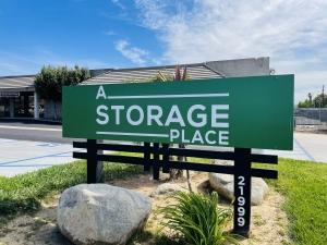 Image of A Storage Place - Van Buren Facility at 21999 Van Buren Street  Grand Terrace, CA