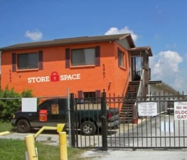 Image of Store Space Self Storage - #1045 Facility at 5907 West Linebaugh Avenue  Tampa, FL