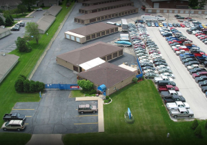 Image of Storage Rentals of America - Franklin - W College Ave Facility on 10535 West College Avenue  in Franklin, WI - View 2