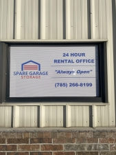 Image of Spare Garage Self Storage - Topeka Facility on 4431 Southeast California Avenue  in Topeka, KS - View 4