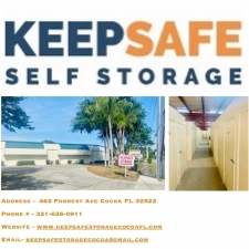 Image of Keepsafe Storage Facility on 463 Forrest Avenue  in Cocoa, FL - View 2